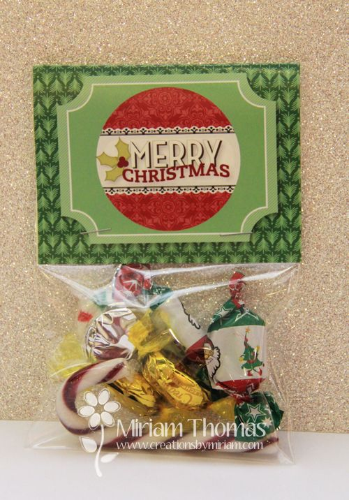 Christmas lolly bag toppers and more teacher gifts!