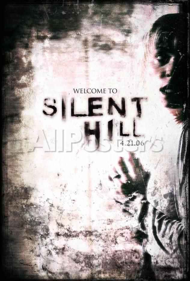 Silent Hill Movies Masterprint 28 X 43 Cm Silent Hill