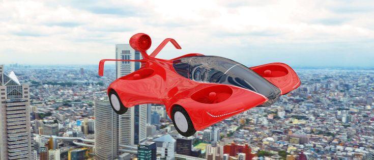 Google-oprichter werkt aan vliegende auto