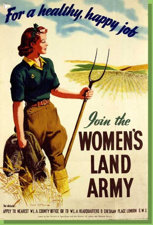 """""""This picture speaks to the women during world 1 who want to serve their country by farming for the soldiers overseas. The women were harvesting crops so soldiers can eat healthy.""""Women's Land Army"""" are the women working in the fields."""" -Mekhi Clemons  http://www.pinterest.com/search/pins/?q=%22world%20war%201%22"""