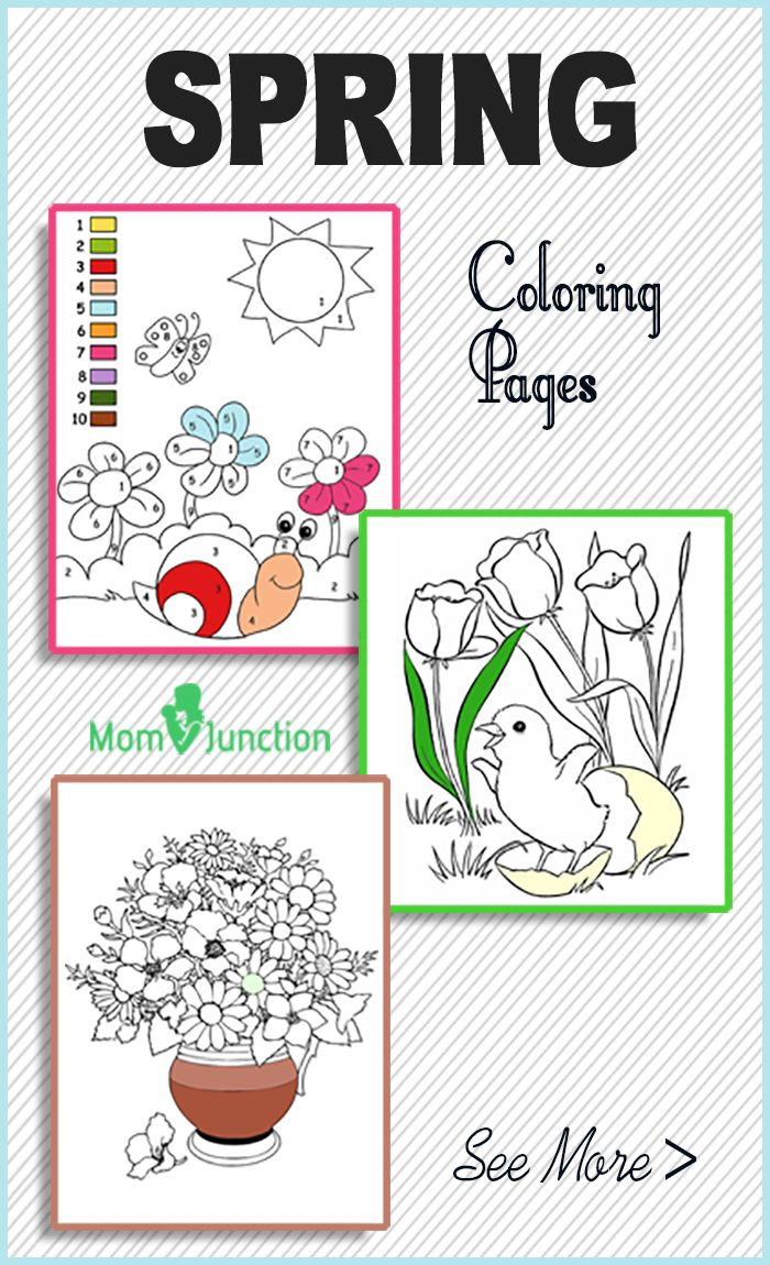 Free online anatomy coloring book - Top 35 Free Printable Spring Coloring Pages Online