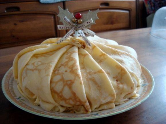 2008年 ミルクレープのクリスマスケーキ