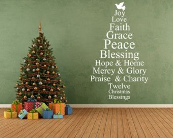 Best Vinyl Wall Decals Images On Pinterest Wall Signs - Custom vinyl wall decals christmas