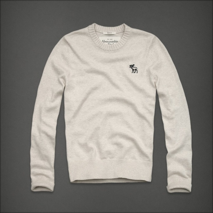 Abercrombie Fitch beige uomini maglioni afmsweater013.€37.86