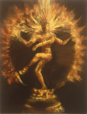 Shiva The Destroyer. Shiva's most important dance is the Tandav. This is the cosmic dance of death, which he performs at the end of an age, to destroy the universe.