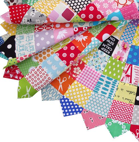 Giant Scrappy Dresden Plate Block And Tutorial