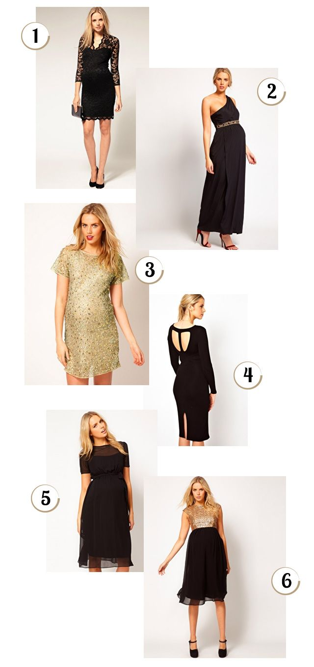 asos elegant maternity evening dresses...sexy and expecting mom all in one