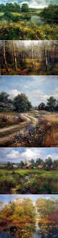 (1) Яркие картины Ольги Одальчук (Olga Odalchuk). | живопись