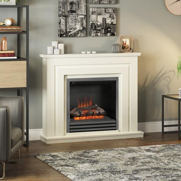 Be Modern Whitham Electric Fire Suite Modern Electric Fireplace
