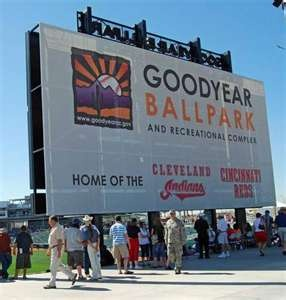 Goodyear Arizona spring training with the Cleveland Indians and Cincinnati Reds!