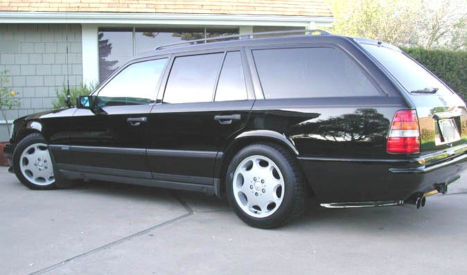 MB W124 AMG Estate.  Want.