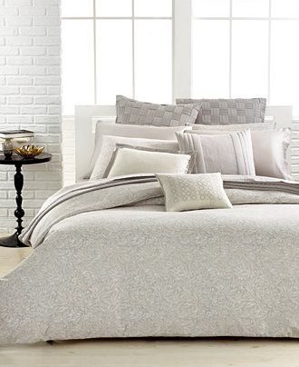 vera wang bamboo leaves collection bedding collections bed u0026 bath macyu0027s