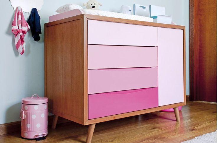móveis pé palito em quarto infantil