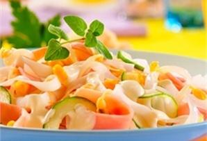Sałatka z szynką/ Salad with ham  www.winiary.pl
