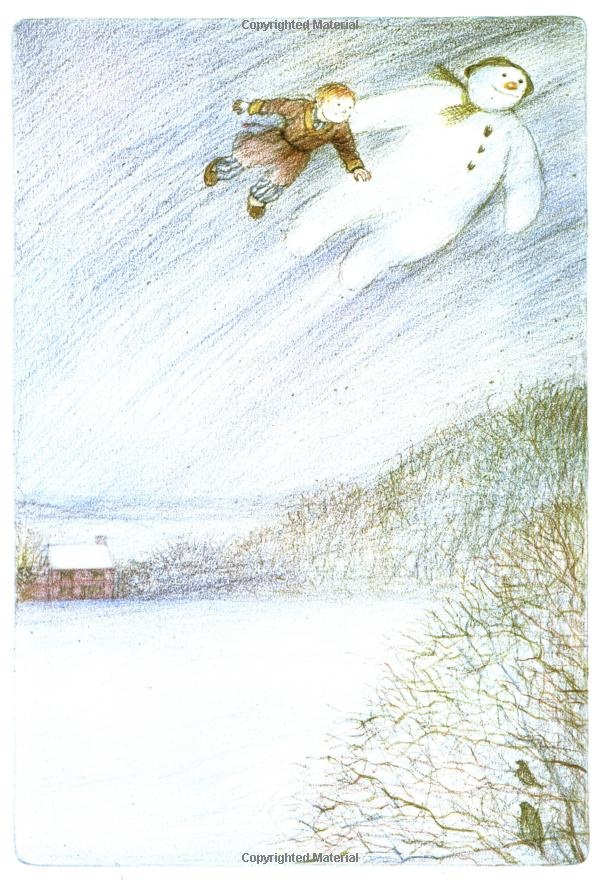 "Raymond Briggs, ""The Snowman"""