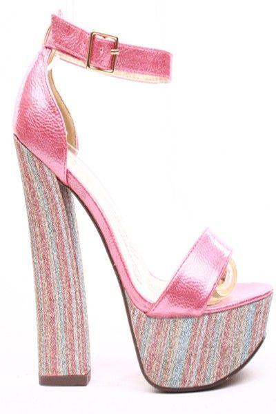 PINK PATENT FAUX LEATHER PLATFORM ANKLE STRAP CHUNKY HEELS,$24.99 #heelsfashion #fashionstyle #shoes #heelshoes #highheelshoes #highheels #sexyheels #sexygirls #sexywomen #welovefashion #fashionworld #worldoffashion #wanderable #heelpumps #platformheels #spring2014 #springfashion2014 #springfashiontrends #springfashion