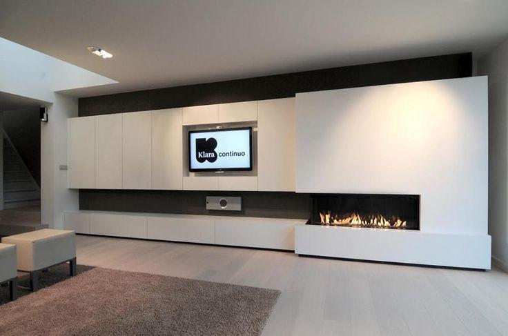 Dirk Lievens / Interieurarchitect / inbouwhaard M-design