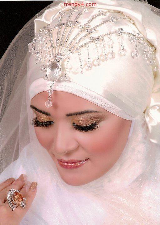 abayatrade.com Bridal hijab