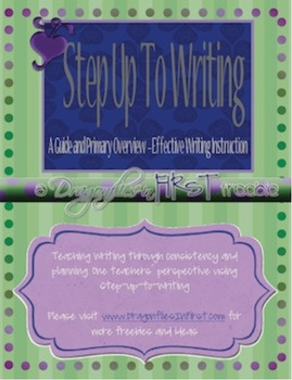 step up to writing primary Abebookscom: step up to writing: primary level grades k-3 (third edition.