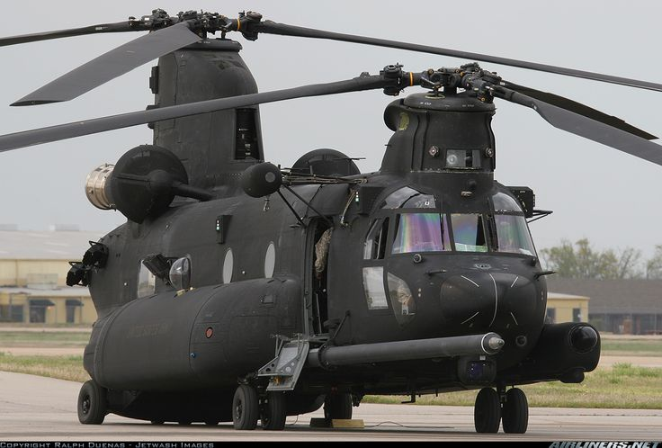 """U.S. Army   Boeing MH-47G Chinook (414)   05-3735 (cn M-3735)   160th SOAR """"Night Stalkers""""   Chinook on steroids"""