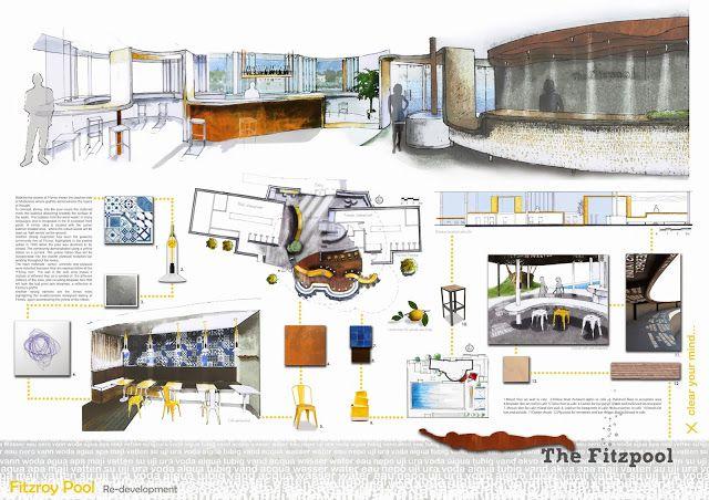 michèle meister: interior design portfolio | architecture, Innenarchitektur ideen