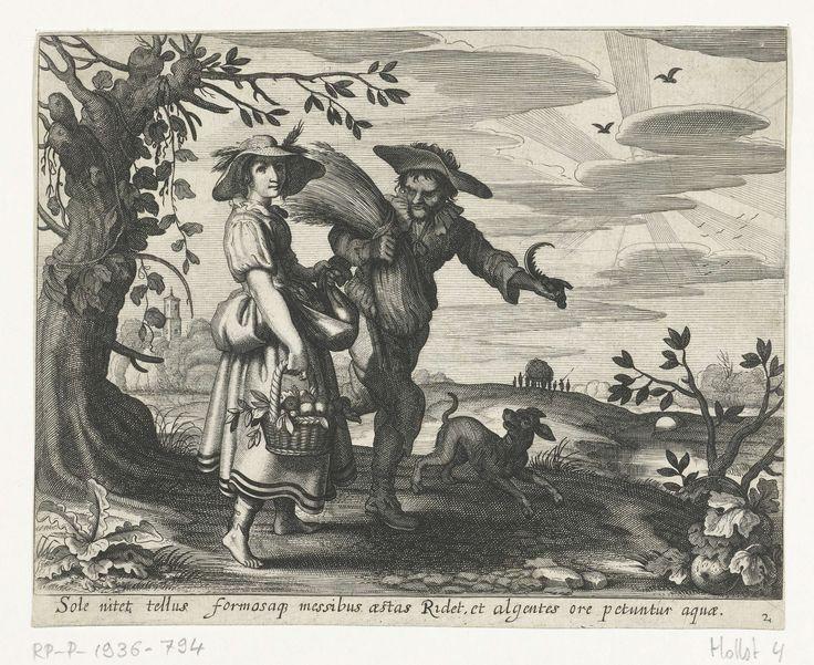Zomer, Daniël van den Bremden, 1625 - 1630