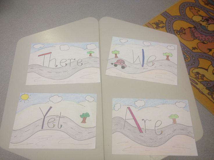 """""""Are we there yet?"""" Title display for the classroom. Based on the Alison Lester """"Are we there yet?"""" Book"""