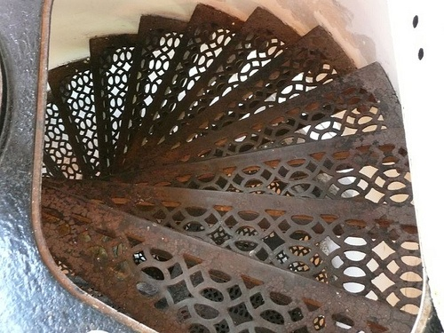 Door County, Cana Island Lighthouse Stairway