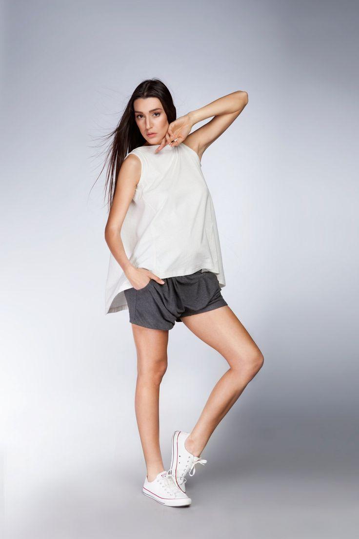 Alinamalina Loose Drape Shorts - Special Dropped Crotch Shorts with Pockets - Loose Extravagant Shorts by AlinamalinaShop on Etsy