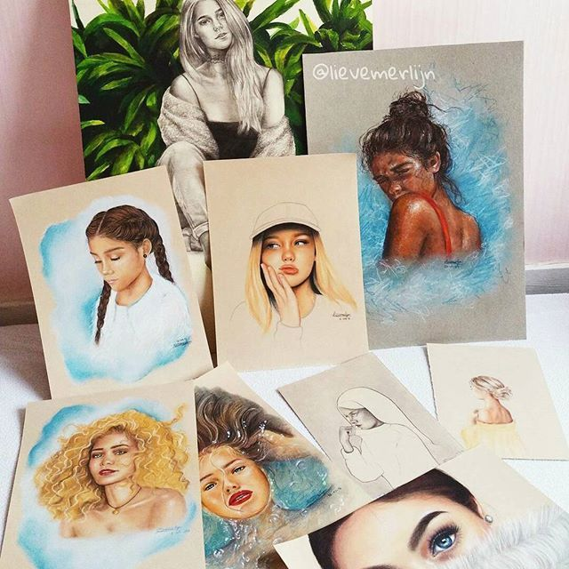 Goodmorning everyone ❤ Some drawings together. Which one is your favourite? Have a nice day!