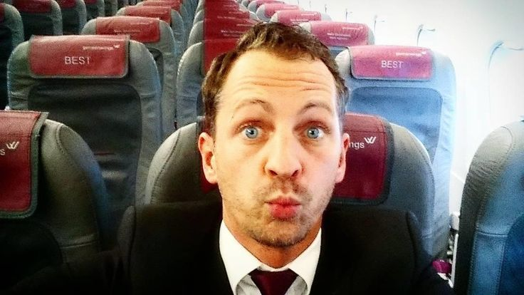 From @b__in__the__sky Kiss and fly part 2  #crewview @Eurowings #germanwings #lufthansagroup #flightattendant #flugbegleiter #officeview #selfie #me #blueeyedguy #handsomeman #travel #aviation #flySTR #tfler #wanderlust #instadaily #picoftheday #airliner #jumpseatcrew #crewiser #cabincrewcentral #like4like #followme #stuttgart #cabincrew #bestjobever #aircrew #cabincrewlife #instamoment #germany @jumpseatcrew @cabincrewcentral @aircrews @flight_attendant_crew crewiser pilot flying avgeek…
