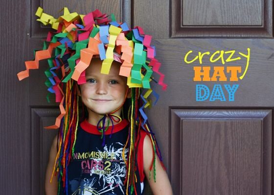 Crazy Hat Ideas For Crazy Hat Day Have a crazy hat day