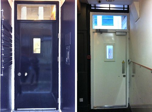High security doors and screens is secured by design communal entrance door. & 32 best Security doors images on Pinterest   Doors Windows and ... Pezcame.Com