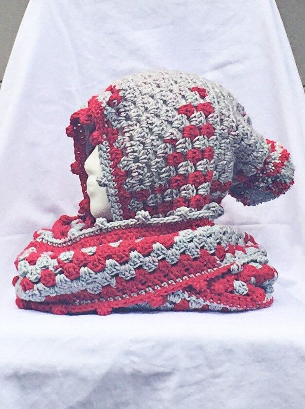 A personal favorite from my Etsy shop https://www.etsy.com/listing/247002716/ohio-state-scarf-ohio-state-scoodie-ohio