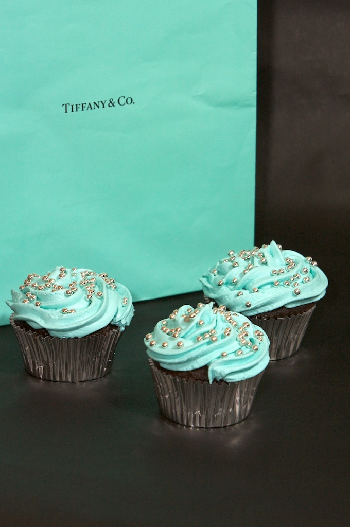 Tiffany cupcakes - no recipe attached, but look easy enough to make...