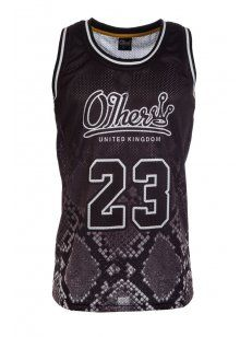 Other Clothing - Snake Basketball Vest Black. Designer menswear available at Intro #mens #fashion #style #trend #print #streetwear #sports #urban #designer