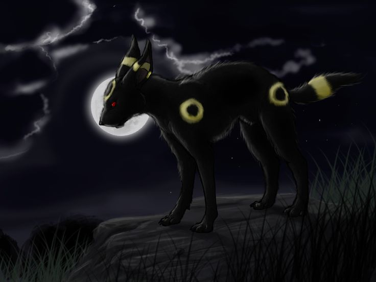 Umbreon - waz the matter by AxMongrel on DeviantArt