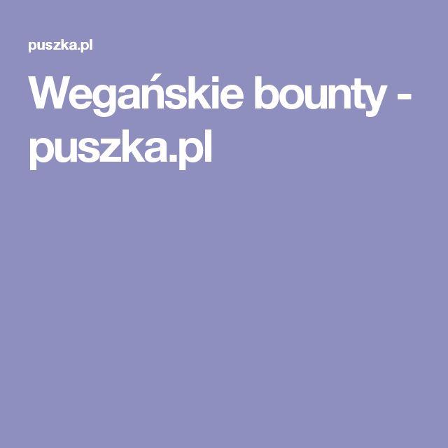 Wegańskie bounty - puszka.pl