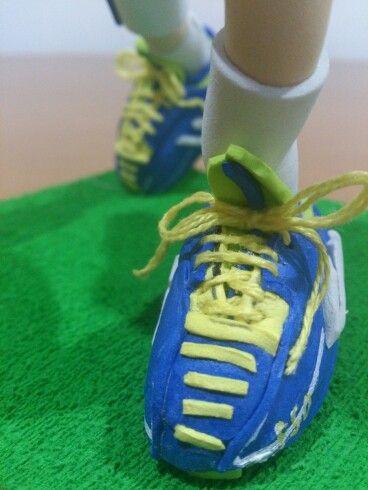 Zapatillas adidas futbol americano de fofucha