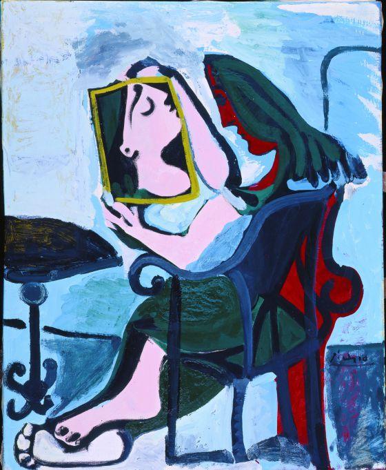 Pablo Picasso - Chica ante el espejo 1932 Cubismo