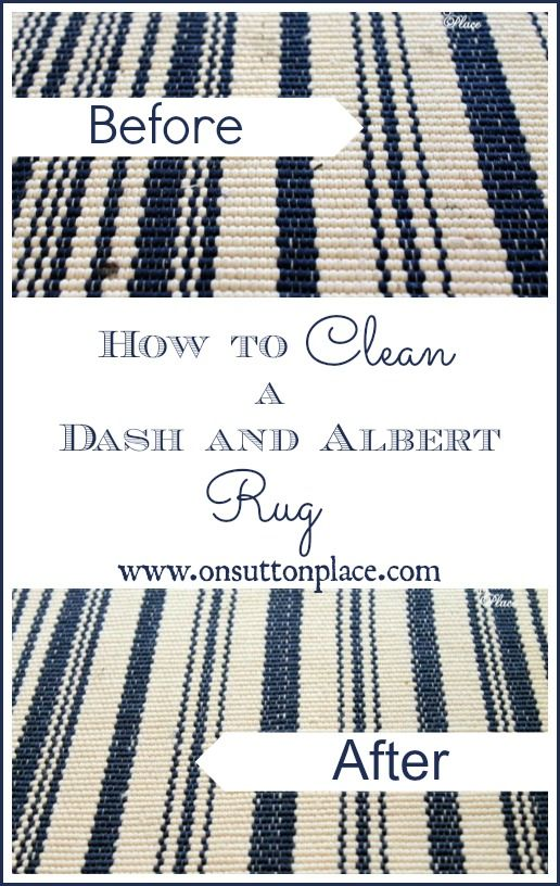 Easy process to clean an Outdoor Dash & Albert Rug that has just a few steps. Quick and painless!