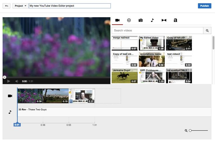 YouTuben videonmuokkausohjelma