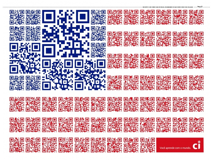 CCSP: QR Code Flags - Estados Unidos