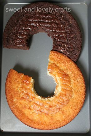 How to make a number 3 cake