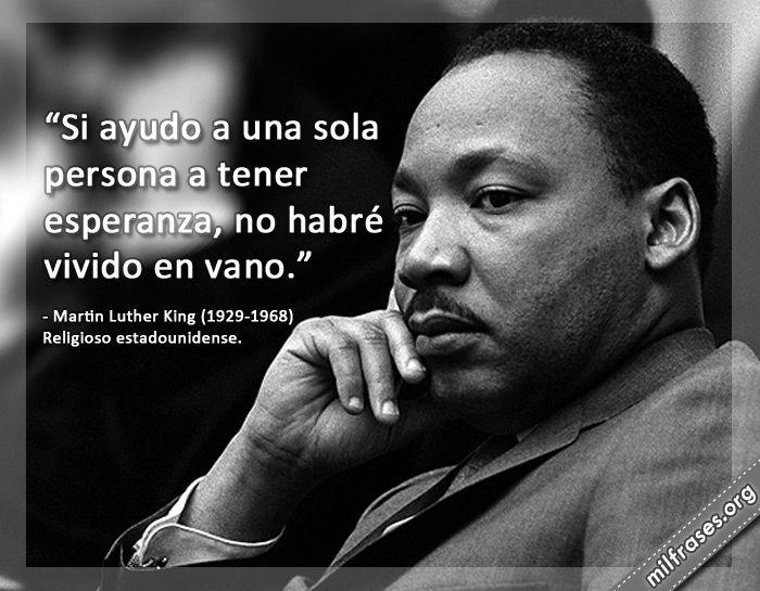 Martin Luther King, frases de esperanza