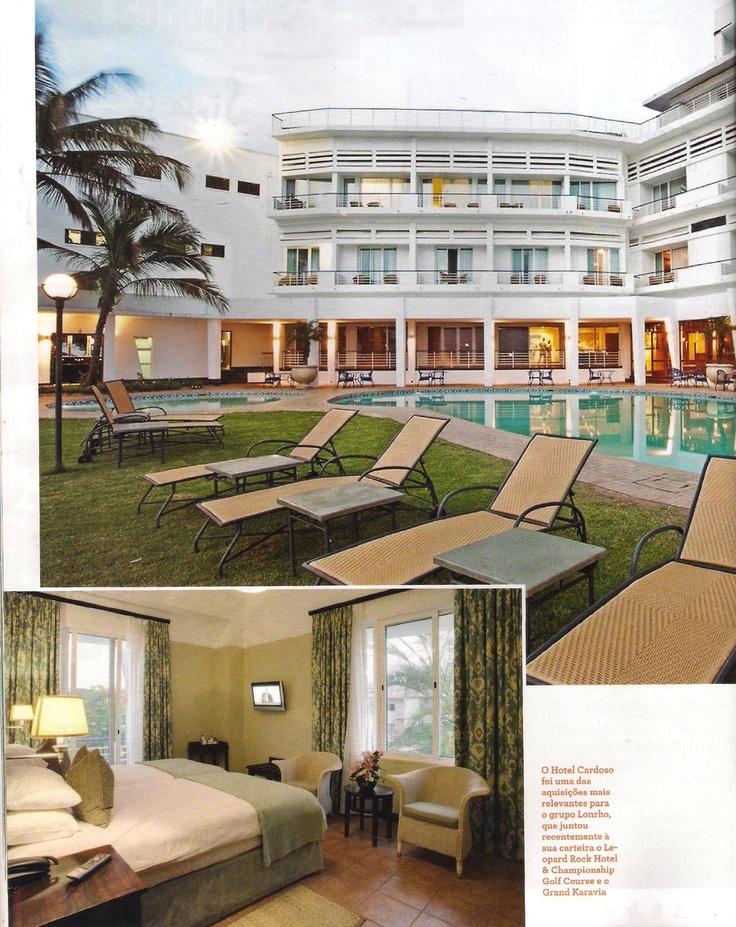 Viagens & Resorts Magazine, Hotel Cardoso page 1