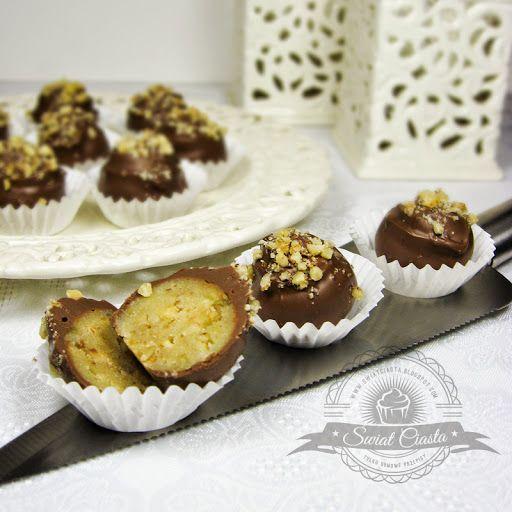 Pralinki marcepanowe | Świat Ciasta