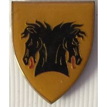 SOUTH AFRICA (SADF) HANTAM COMMANDO METAL SHOULDER BADGE