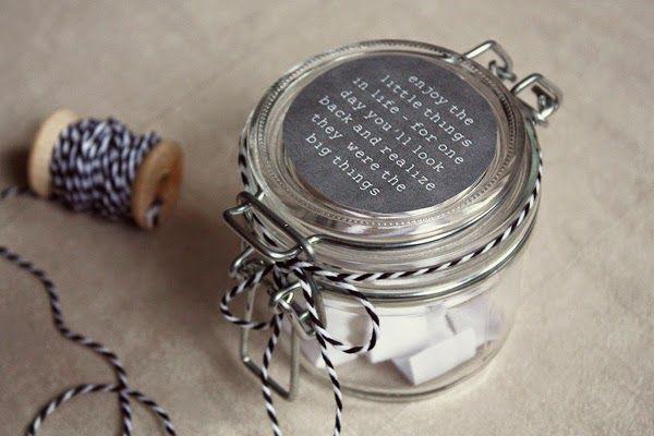 Kuddelmuddel: DIY: Schöne-Momente-Glas (Gratitude Jar)