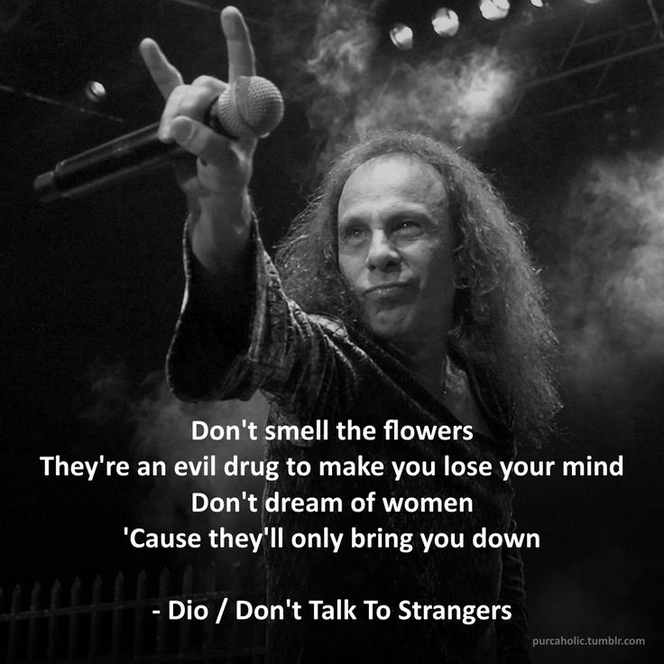 Ronnie James Dio - The man who created the m/ symbol.